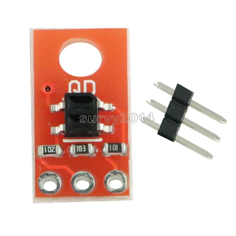 DC 3.3V 5V QRE1113 Digital Linear Sensor IR LED Infrared Reflective Sensor Module Capacitor Discharge Circuit Breakout Board