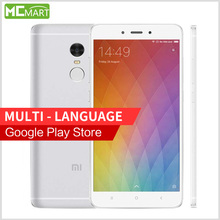 "Original Xiaomi Redmi Note 4 2GB/16GB smartphone MTK Helio X20 Deca Core Note4 4G 5.5 "" 1080P MIUI 8 Fingerprint ID phones"