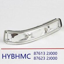 Подлинное боковое зеркало светодиодный указатель поворота лампа-мигалка Blink для Kia Borrego MOHAVE 2008-2012 876132J000 876232J000