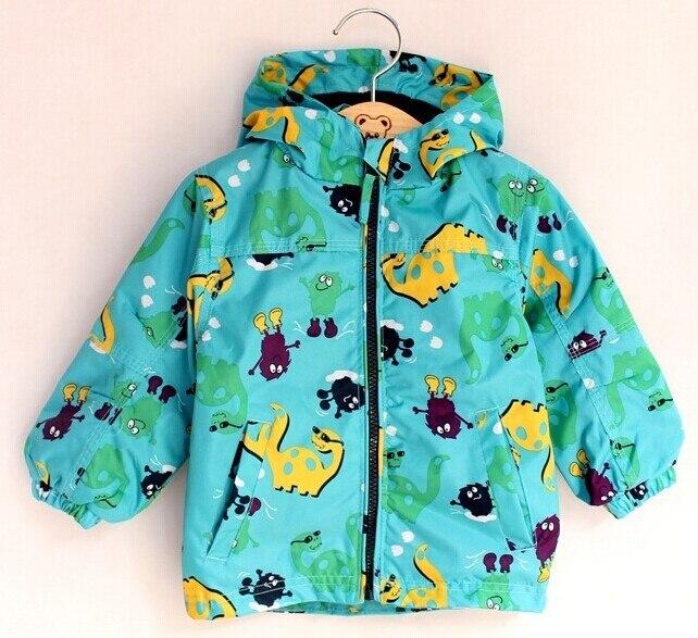 Розничная продажа оригинальная Пособия по немецкому языку мальчик непогоды Детское пальто с капюшоном Бесплатная доставка, в наличии