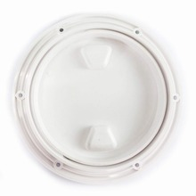 8″ Boat Round Non Slip Inspection Hatch with Detachable Cover 250mm