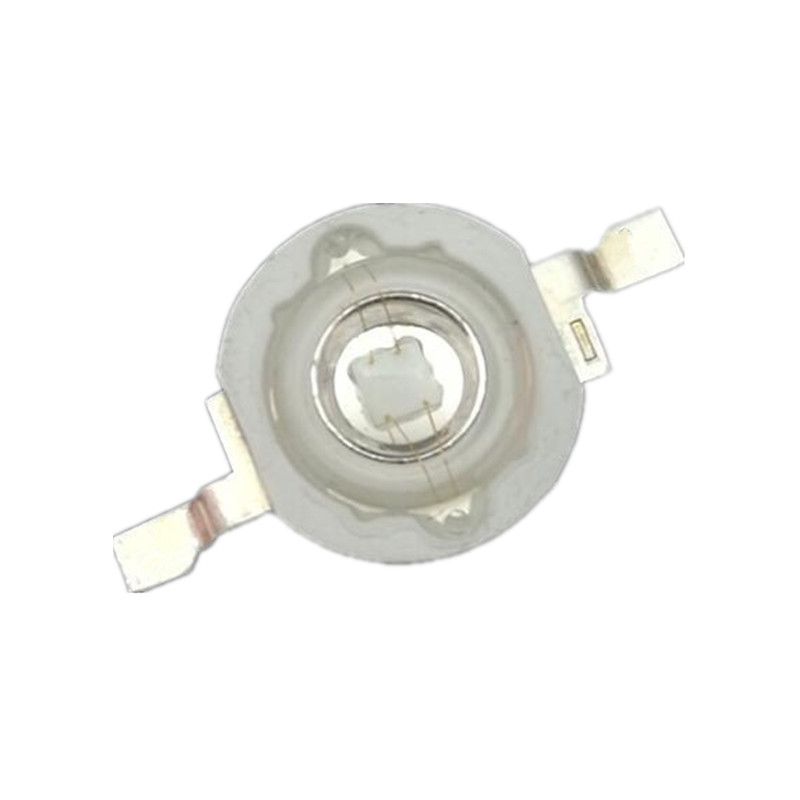 10pcs 3W <font><b>LED</b></font> chip UV High power Light bead 365 380 395 400 410 420 <font><b>430nm</b></font> Silicone Lens High temperature resistance Curable nail image