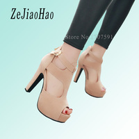 2016 New Arrival Summer Strappy High Heels Platform Woman Sandals Designer Sandals For Women Sexy Peep
