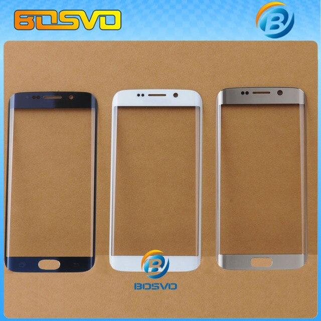 Замена высокое качество для samsung для galaxy s6 edge G9250 SM-G925 жк-экран digitizer стекло передняя линза 1 шт. бесплатная доставка