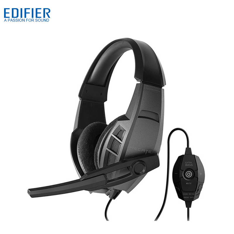 EDIFIER G3 Professional USB Gaming Headset Digital Audio Processing Game Headset Noise Cancelling Headphone with Microphone