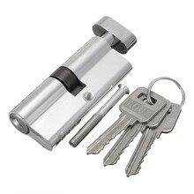 Mtgather x70 silvertone цилиндр Аппаратные средства indoor Алюминий дома ворота безопасности код блокировки с 3 ключами новое поступление