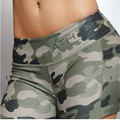 Camouflage Compression Women Shorts Girls Bodybuilding Shorts