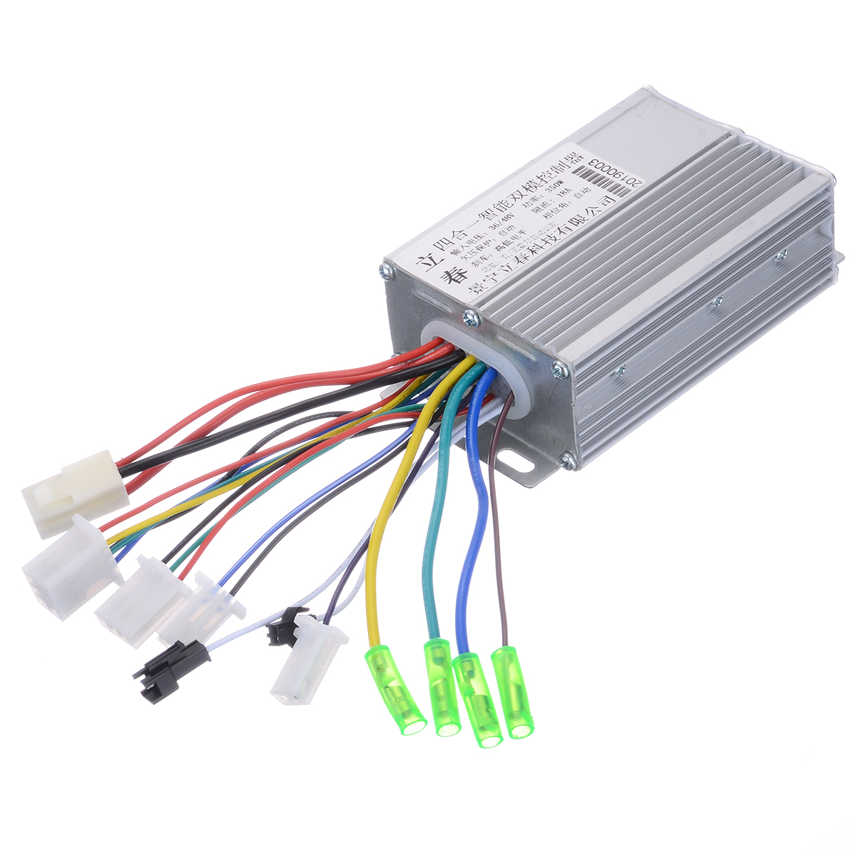 Electric Bicycle Accessories 36V/48V Electric Bike 350W Brushless DC Motor Controller 103x70x35mm For E-bike Scooter