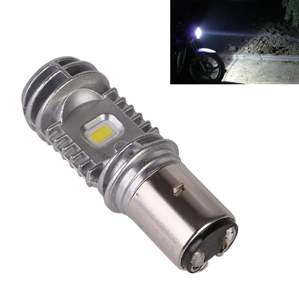 BA20D H/L 40W 2000lm 6000K 9-85V Motorcycle ATV LED Bulb DRL Headlight Fog Light Lamp 1pc Free Shipping D30