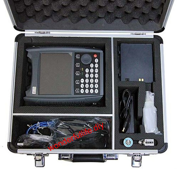 SUB 140 Ultrasonic Flaw Detector Defectoscope 0~25000 mm DAC+AVG with Color B-Scan