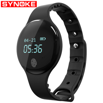 SYNOKE Smart Watch Men Pedometer Reminder Watch Women Sport Mens Digital Watches Fitness Bracelet Watches for IOS Android