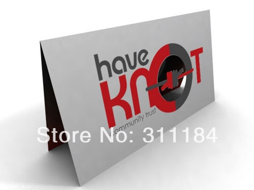 Custom half folded business card two sides printing cheap in custom half folded business card two sides printing cheap reheart Image collections