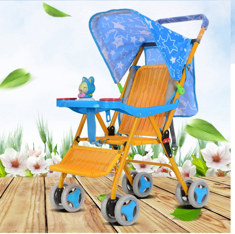 baby stroller high landscape light portable umbrella baby winter and summer hand can take a folding folding stroller Rattanbaby stroller high landscape light portable umbrella baby winter and summer hand can take a folding folding stroller Rattan