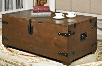 Do The Old Vintage American Box Wood Tea Table Storage Storage Trunk Wooden  Table To Do