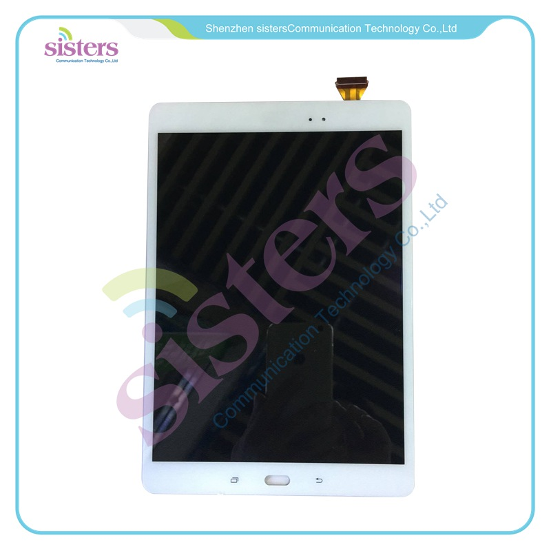 For Samsung Galaxy Tab A9.7 SM-T550 T550N T555 LCD Display Panel With Touch Screen Digitizer Assembly Original Replacement Parts for samsung galaxy e7 e7000 e700f tested brand new lcd display touch screen digitizer assembly replacement parts