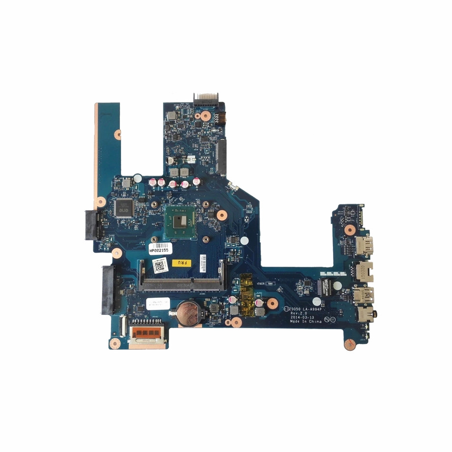 Excellent For HP 15 R 250 G3 Laptop Motherboard With SR1SJ N2815 DDR3 759879 501 ZS050