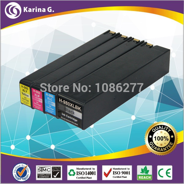 ФОТО compatible ink cartridge for hp 980xl  hp 981xl  X555dn X555xh X585dn MFP X585f MFP X585z MFP