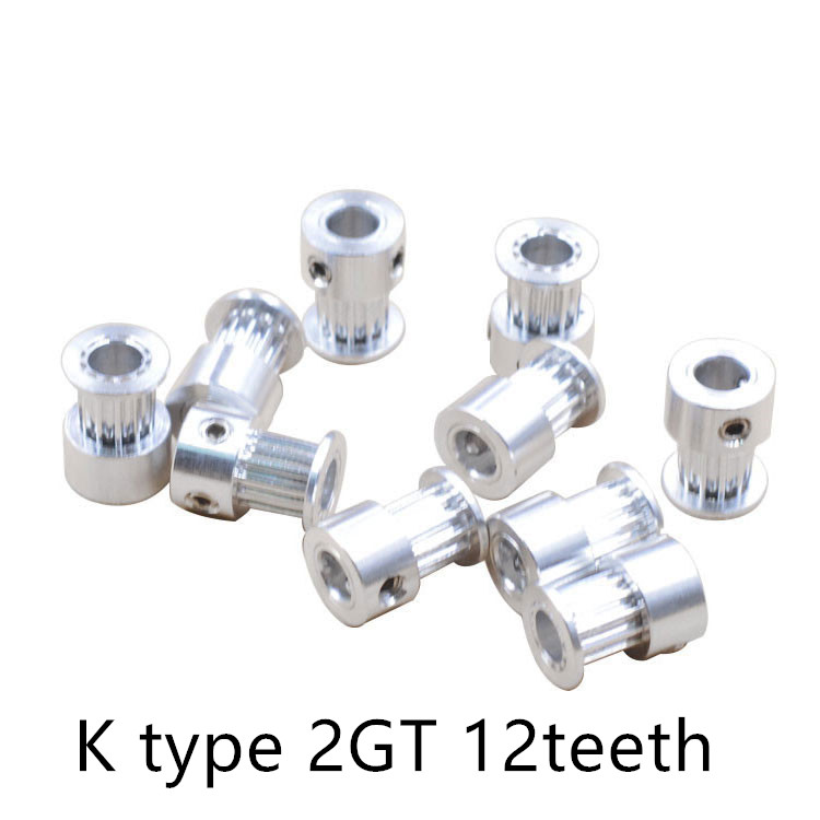 GT2 Timing Pulley 12 teeth Bore 4mm 5mm for width 6mm 2GT Synchronous Belt Small backlash 12Teeth 1pcs powge 8pcs 20 teeth gt2 timing pulley bore 5mm 6mm 6 35mm 8mm 5meters width 6mm gt2 synchronous 2gt belt 2gt 20teeth 20t