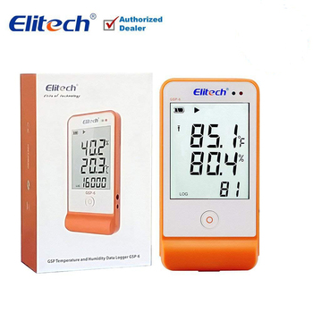 Thermometer Hygrometer Electronic Temperature and Humidity Data Logger Meter LCD USB Temperature Humidity Senor bside bth02 waterproof two channel temperature humidity dew point data logger with usb interface page 1 page 4