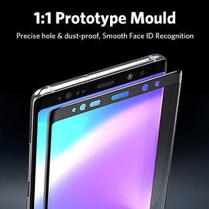 Image 3 - Benks X PRO + protezione in vetro temperato film di 0.3 millimetri protezione dello schermo di HD superficie curva 9H per samsung galaxy note 9