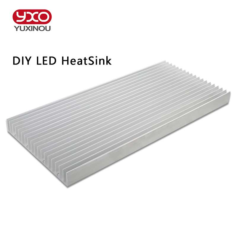 DIY High Power <font><b>LED</b></font> aluminum Heatsink radiator heat sink DIY 9W 15W 18W 30W 60W aquarium <font><b>led</b></font> light, diy <font><b>led</b></font> grow light image