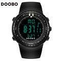 Doobo marca de luxo das mulheres dos homens sports relógios led digital militar relógio de pulso à prova d' água ao ar livre ocasional relogio masculino