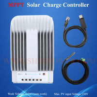 hot sale Tracer 4215BN solar charge 24v 40a mppt controller including USB and sensor EPsolar