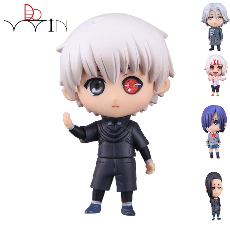 5 STYLE Q version Anime Tokyo Ghoul Figure 10cm Q Version Juzo Suzuya / REI Cosplay PVC Action Figures Collectible Model Toys