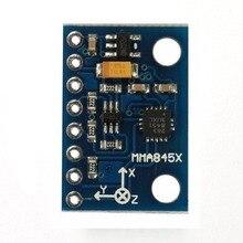 X117 MMA8451 модуль цифровой трехосевой акселерометр Точность наклона для Arduino Высокоточный модуль датчика наклона