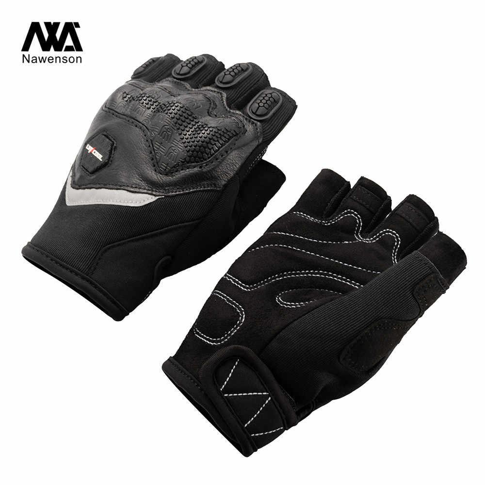 夏オフロードモトクロスオートバイレース乗馬ハーフ指屋外のオートバイの手袋半指保護