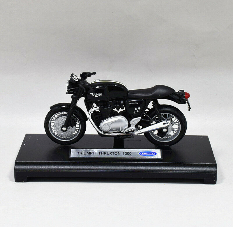 Welly 1:18 TRIUMPH Thruxton 1200 Motorcycle Bike Model Toy New In Box