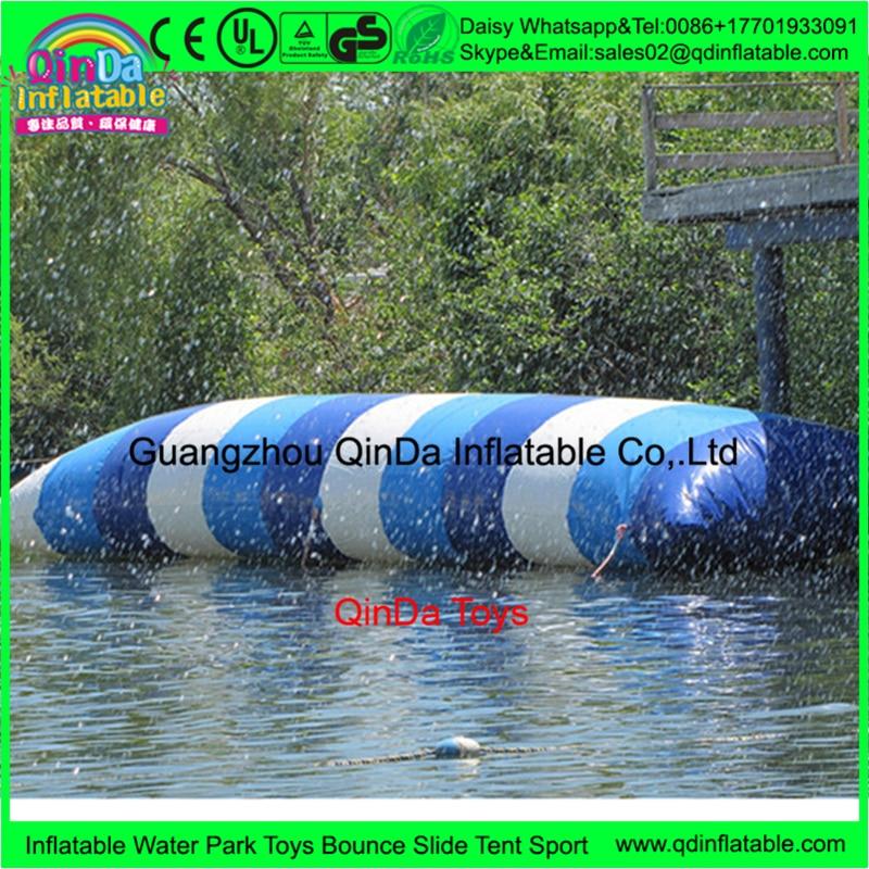 10m*3m Inflatable Blob Jumping Water air bag, Water Catapult Blob,inflatable water jumping pillow inflatable jumping pillow inflatable water blob jump inflatable water catapult blob