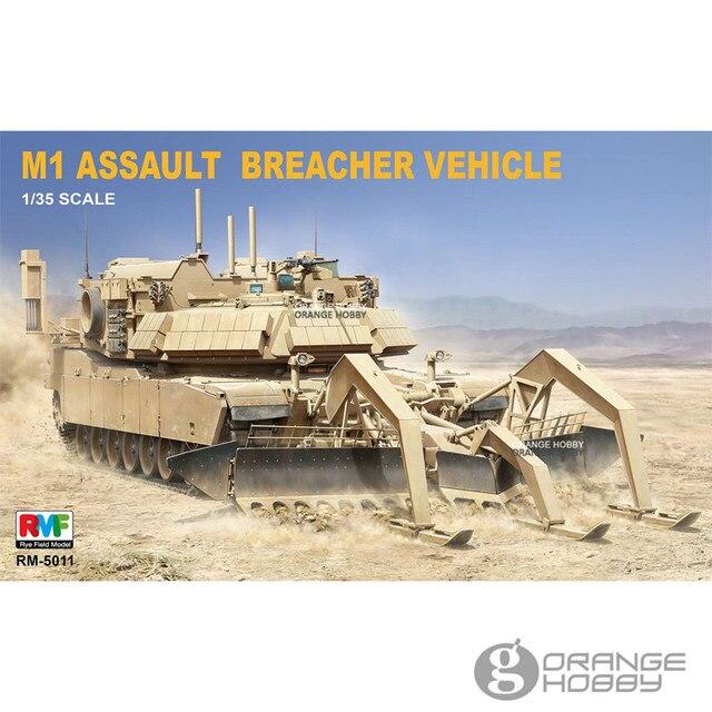 7d8495c47ee2 OHS RFM RM-5011 1 35 M1 Assault Breacher Vehicle Assembly AFV Model  Building Kits oh