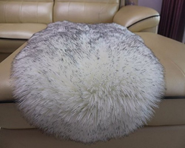 New Luxury Soft Chair Sofa Cover Bedroom Carpet Faux Sheepskin Rug
