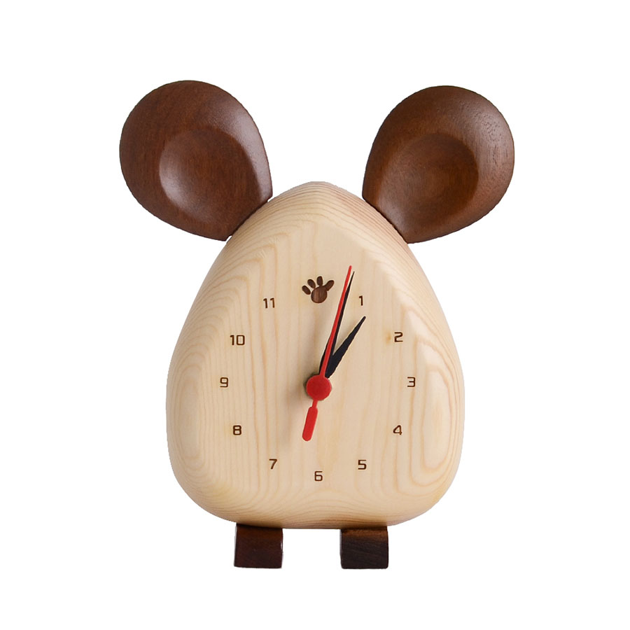 Desk Clock Table Clock Desktop Vintage Pendulum Clock Electronic Nordic Digital Desk Clocks Office Decoration Home Decor 50Q037