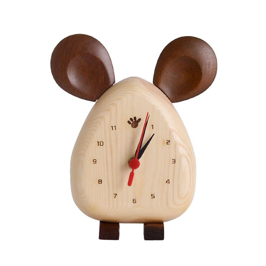 Horloge de bureau horloge de Table bureau Vintage pendule horloge électronique nordique numérique horloges de bureau décoration de bureau décor à la maison 50Q037