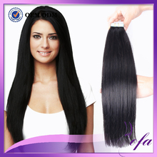 Tape In Human Hair Extensions 40strands Human Tape Hair Extensions Skin Weft 16″-24″ Top Quality Type Hair Pieces