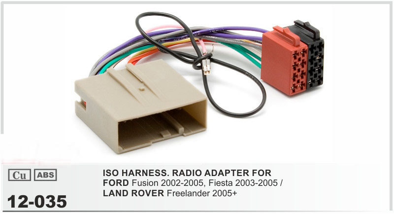 online buy whole ford wiring harness from ford wiring jstmax 12 035 car iso radio stereo wiring harness for ford fusion fiesta land rover