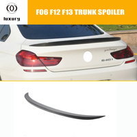 M6 Style Carbon Fiber Rear Spoiler Wing for BMW F06 Gran Coupe 4 Door F12 Coupe F13 Convertible 640i 650i 640d