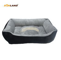 Sunland High Quality Pet Cat Bed Small Dog Puppy Kennel Sleeping Warm Sofa Bed For Dog Pet