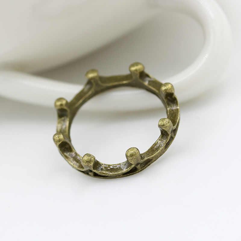 ยุโรปและสหรัฐอเมริกาแฟชั่นบุคลิกภาพคนน้ำแหวนวินเทจแหวนมงกุฎน่ารักหญิงแหวนเครื่องประดับขายส่ง