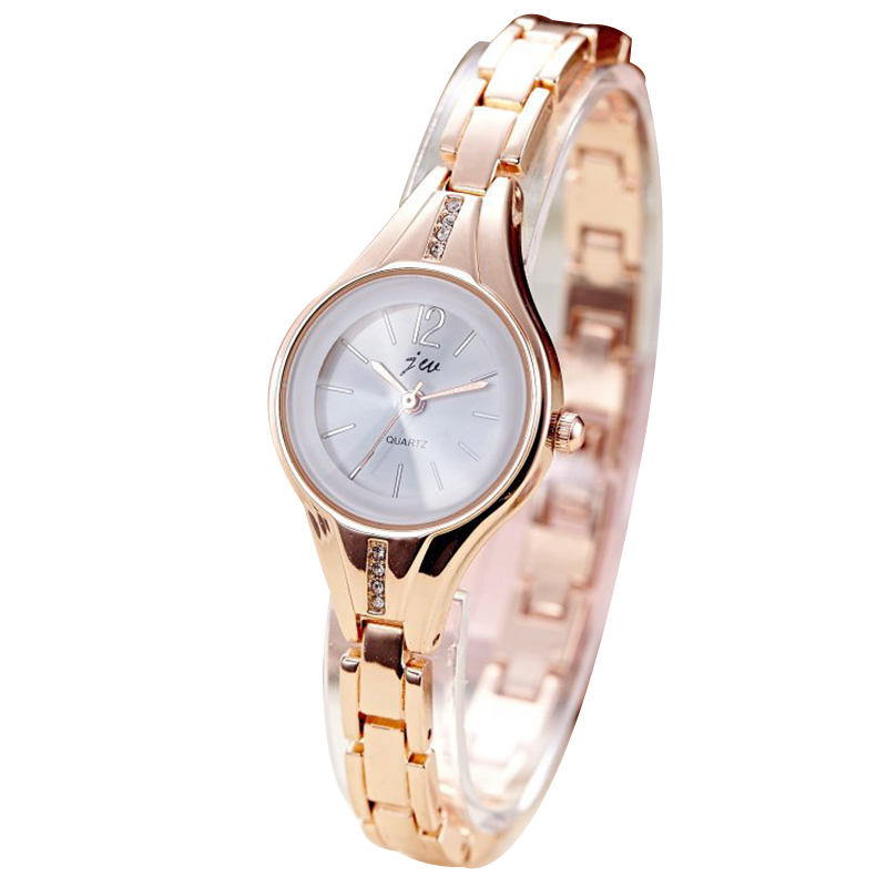 Fashion women Quartz bracelet Watch Elegant Automatic Ladies gold dress wristwatch top quality famous woman waterproof