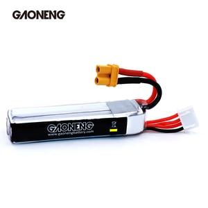Image 4 - 2PCS Gaoneng GNB 300mAh 3S 11.4V 30C/60C HV Lipo battery XT30 Plug for FullSpeed TinyLeader whoop3S Drone RC FPV Drone parts