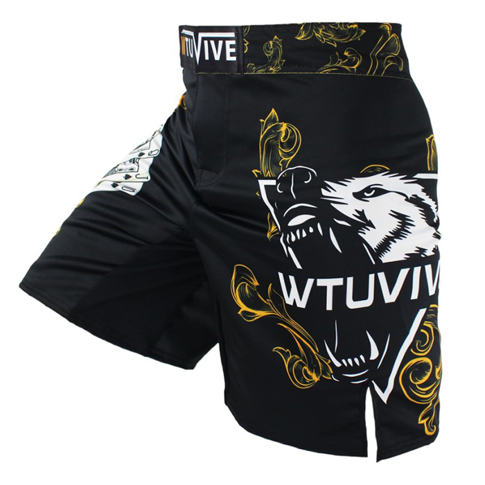 Shorts Fights UFC Fitness Breathable Running Casual Cheap BJJ MMA Fist WWF Muay-Thai
