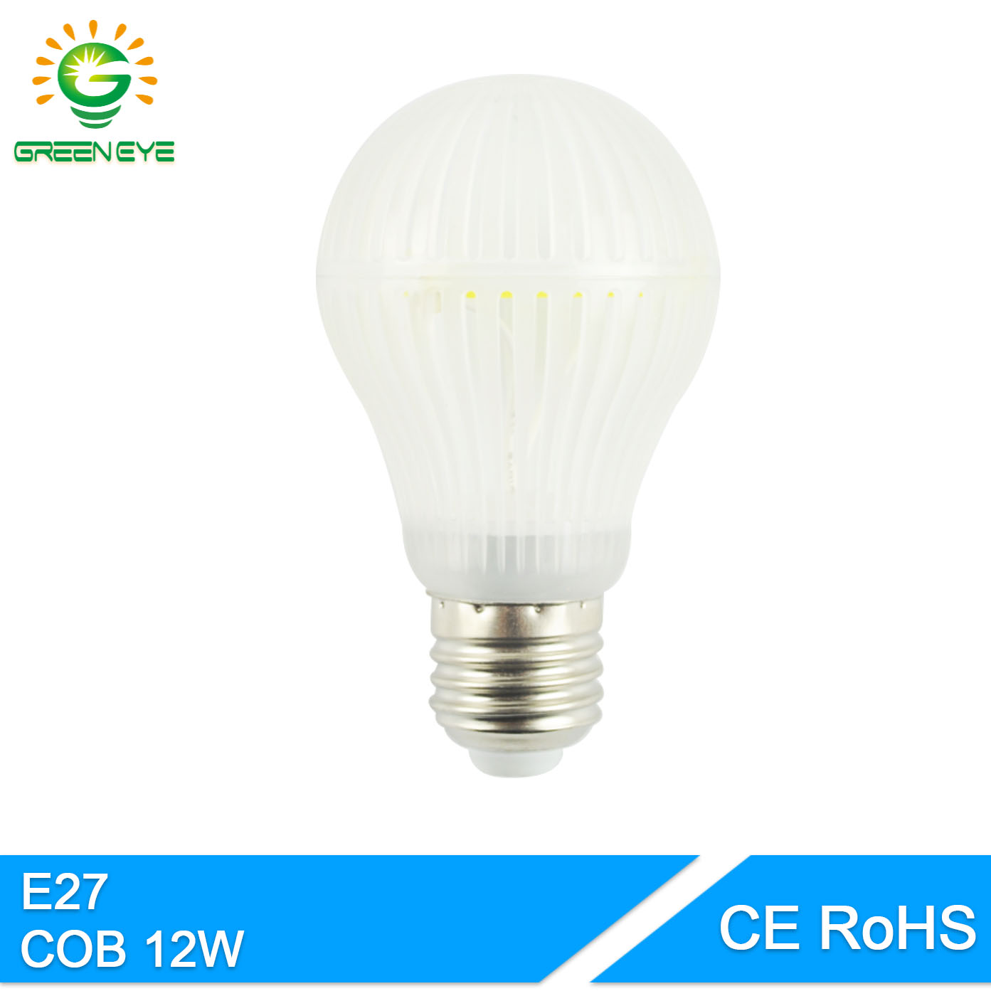GreenEye Korea 120LEDs COB Chip Whole Body Bright Led bulb E27 12W  220V 240V LED Edison Light Lamp Lampada Ampoule Lampara 50w e27 120 leds ufo light bulb