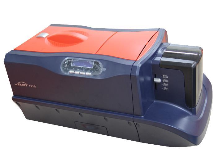 T11S ПВХ ID Card Printer двухсторонний Бизнес карт принтер машина