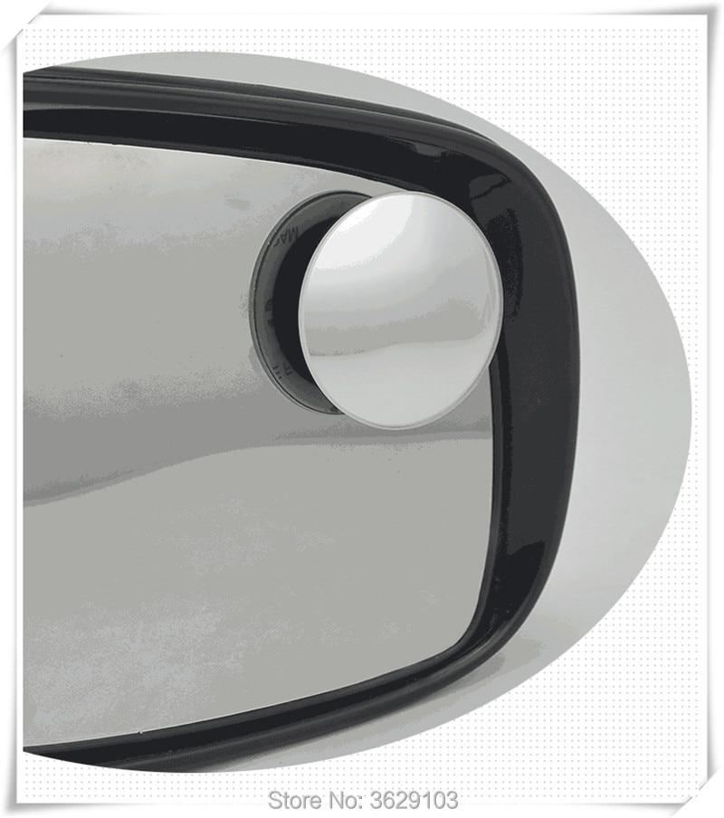 360 градусов зеркала автомобиля Широкий формат выпуклый Слепое пятно зеркало, аксессуары автомобиль-Стайлинг для Skoda Octavia Fabia йети rapia превосх...