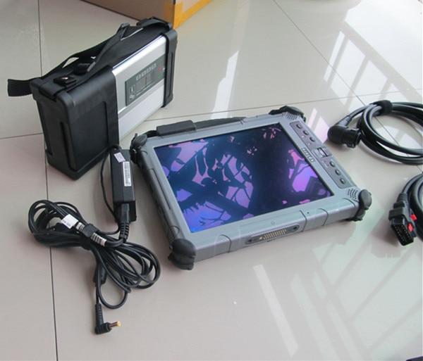 Авто диагностики ноутбука IX104 i7 Tablet PC с SD Connect C5 + MB Программное обеспечение SSD v2017.09 бесплатной технической поддержки
