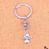 20Pcs I Love Soccer Keychain Novelty Gadget Trinket Souvenir Christmas Gift Keychain Drop Shipping