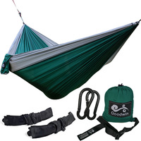 Outdoor Parachute Nylon Camping Hammock 2 Person Flyknit Hamaca Garden Hamak Hanging Bed Leisure Hamac